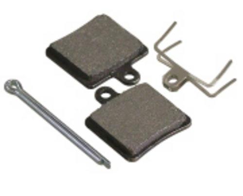Placute Frana Disc Fibrax Semi-Organice Ash918 [0]