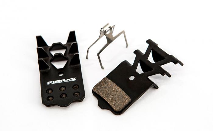 Placute Frana Disc Semi-Metalice Fibrax Ash977F Dreptunghiulare [0]