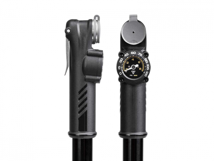 Pompa Mini Topeak Roadie Da G Trda-1G, Manometru, Neagra 1