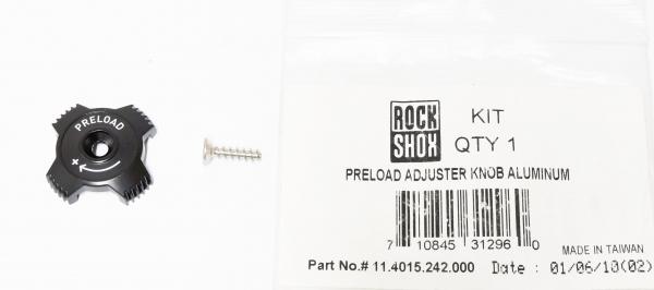 Preload Adjuster Knob Aluminum [1]