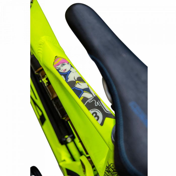 Protectie Cadru Azonic Crank Tip Abtibild,Multicolor - Azonic 2