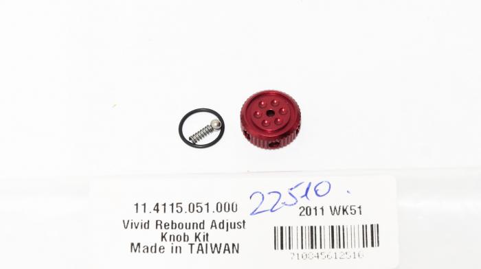 Rebound Adjust Knob Kit - 2009-2010 Vivid (Not Compatible With 2011) 1