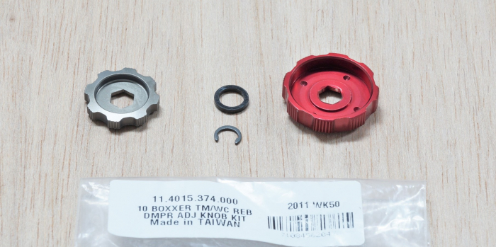 Rebound Damper Adjuster Knob Kit - 2010 Boxxer Team/Wc (Includes Low-Speed And Hi-Speed Adjuster Knobs) Not Compatible With 2011 Boxxer R2C2/Wc 1