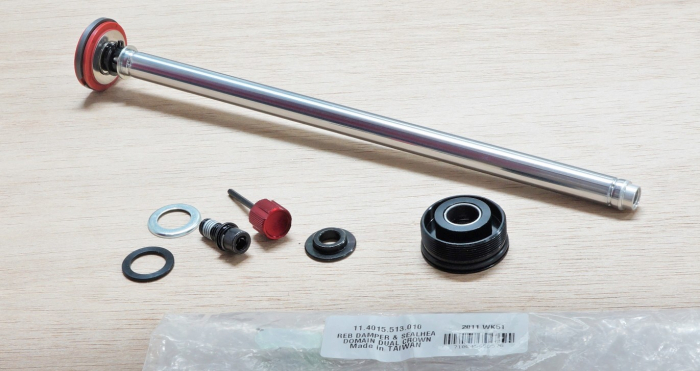 Rebound Damper And Seal Head Assembly - Domain Dual Crown 1