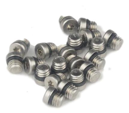 Reservoir Bleed Screw/O-Ring Stainless Qty 20 0