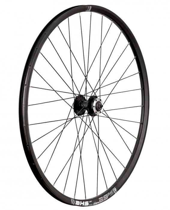 "Roata Bicicleta Fata Taurus 29"" - 2925, 622X21, Alu Dubla, Neagra, Disk Brake, Butuc Quando F/Kt-Md7F, Qr, 32H 1"