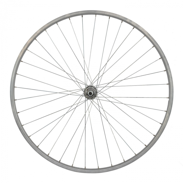 "Roata Spate 28"" Cerurim, Janta Simpla Lyra, 622X21, V-Brake, 36H, Argintie [0]"