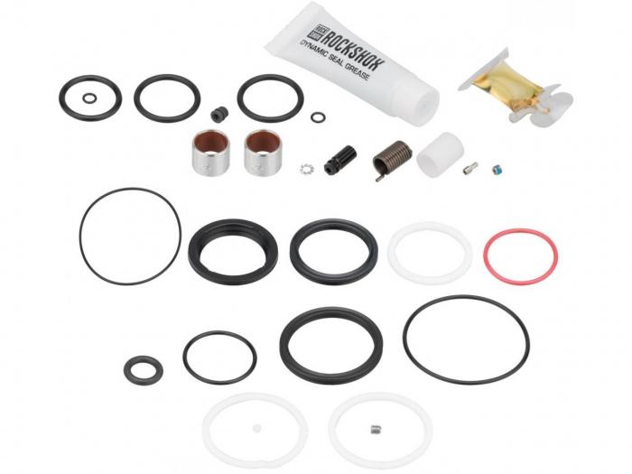 Service Kit 200 Ore Sau 1 An Amortizor Spate Rockshox Deluxe Remote (2018+),Include Garnituri Air Can/Piston Si Ifp, Glide Rings, Remote Spares,Lubrefiant,64G 0
