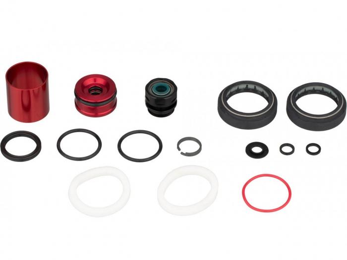 Service Kit 200 Ore Sau 1 An Furca Rockshox Boxxer Rc2 C1(2019)/ Boxxer Ult C2 (2020+),Include Semeringuri Praf/Ulei(O-Rings,Foam Rings,Damper Sealhead, Air Spring Sealhead),91G [0]