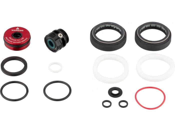 Service Kit 200 Ore Sau 1 An Furca Rockshox Lyrik Rc2 C1 (2019+),Include Semeringuri Praf/Ulei(O-Rings,Foam Rings),Charger 2 Sealhead, Aluminum Debonair Sealhead,82G [0]