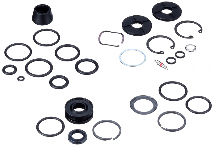 Service Kit (Full), Dual Position Air/Motion Control Dna - 2012 Revelation New (Dual Wing Adjuster Knob) [0]