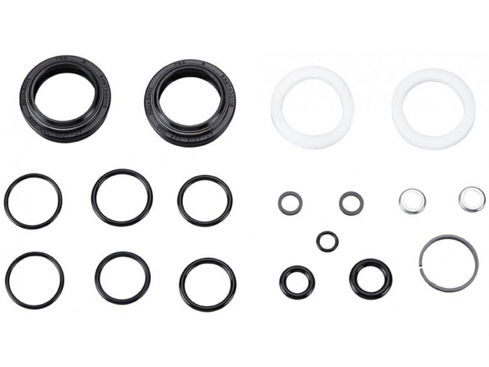 Service Kit Furca Rockshox 30 Gold&Silver(2018+) 200 Ore Sau 1 An,Include Semeringuri Praf/Ulei(O-Rings,Foam Rings),60G 0