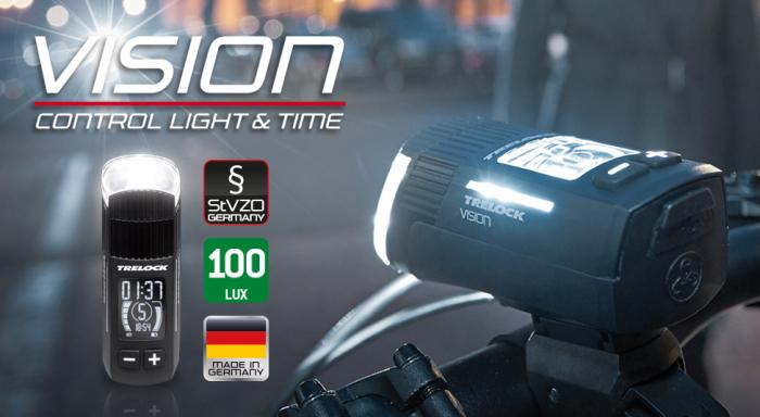 Set far-stop Trelock LS760 I-Go Vision/ LS720 Reego, fata+spate, negre [1]