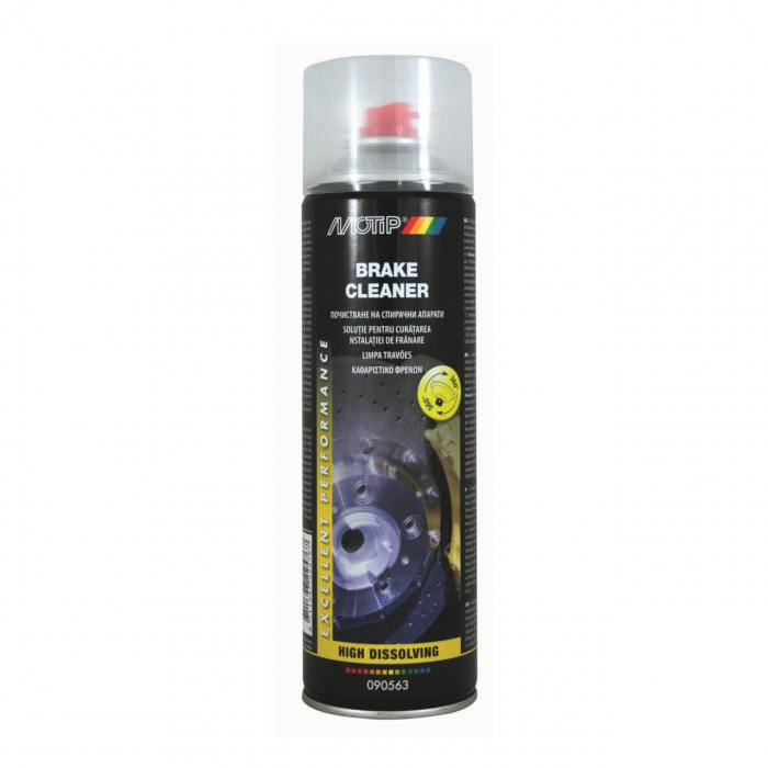 Spray Motip Wd40, Curatare Frane, 500Ml 0