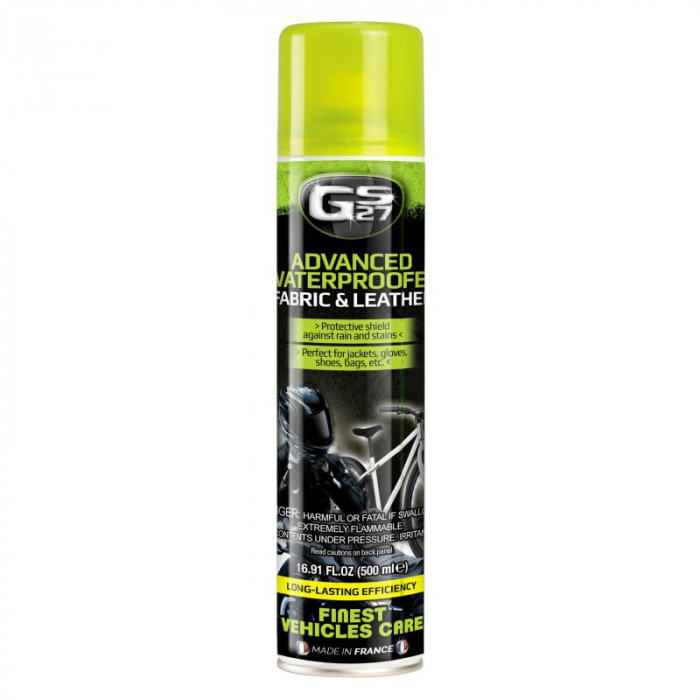 Spray Protectie Gs27 - Advanced Waterproof Fabric&Leather 500Ml - Gs27 1