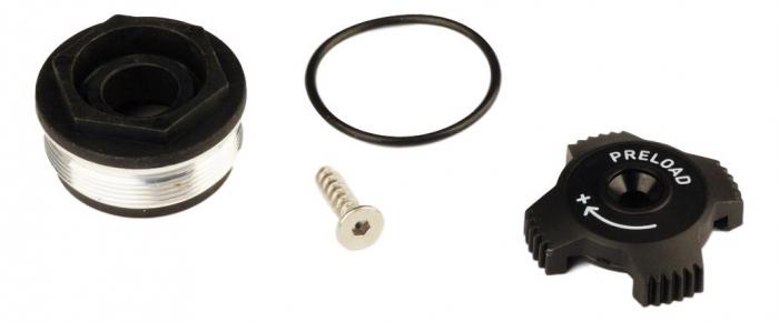 Top Cap/Preload Adjuster Knob, Aluminum 2011 Tora Tk 0