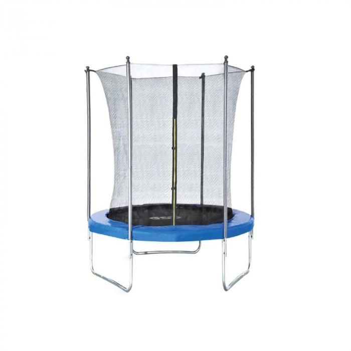 Trambulina pentru copii cu plasa interioara Byox 8FT 244 cm [0]