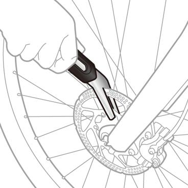 Unealta Calibrare Disc Topeak Rotor Tru, Tps-Sp24 - Argintiu-Negru [1]