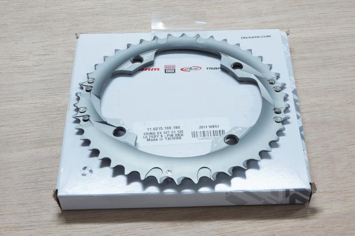Xx Chain Ring 42T S1 120 Al6 Tungsten Grey S-Pin Bb30 10 Speed 1