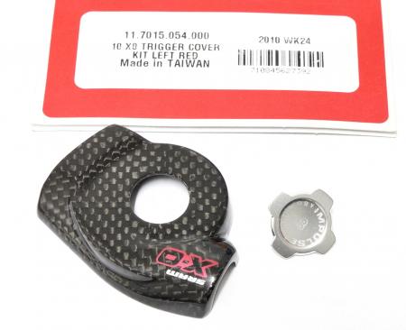 10 X0 Trigger Cover Kit Left Red1