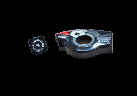11 X0 Trigger Cover Kit Left 3Speed Red [0]