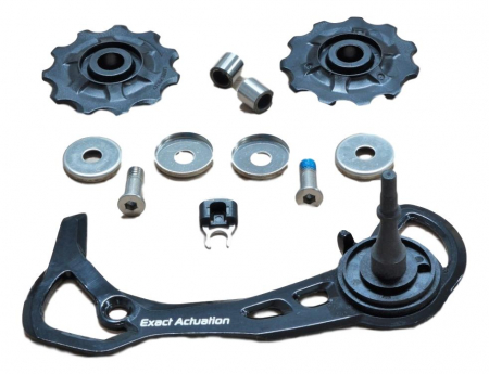 12 Rear Derailleur X5 10 Speed Medium Cage Assembly (Inner Cage & Pulleys, Outer Cage Not Replaceable)0