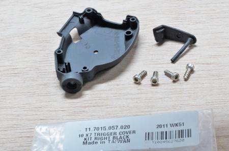 2010 X7 Trigger Cover Kit Right Black1