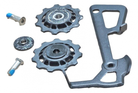 2010 X9 Rear Derailleur Cage Kit Medium (Inner Cage & Pulleys, Outer Cage Not Replaceable)0