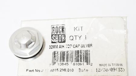 32Mm Air Top Cap Assy, Silver1