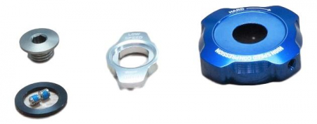 Adjuster Knob Kit, Compression Damper, Mission Control Dh - 2011-2012 Boxxer R2C2/Wc (Low Speed, High Speed, Retaining Screw) Cannot Be Used With 2010 Compression Damper. [0]