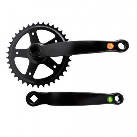 Angrenaj pedalier Clasic, 38T, negru0