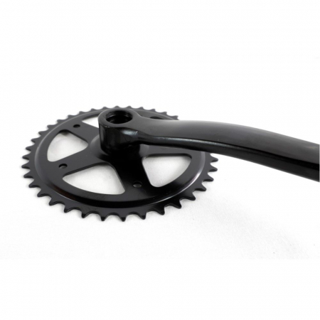 Angrenaj pedalier Clasic, 38T, negru1