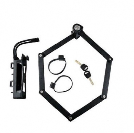Antifurt bicicleta Trelock TF 100, negru0
