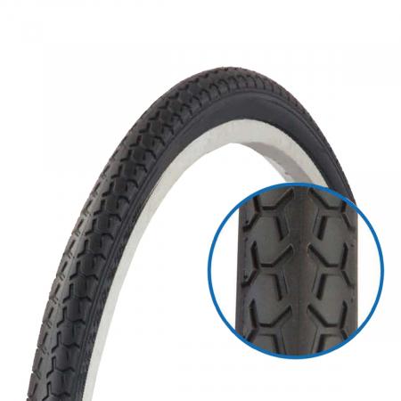Anvelopa Bicicleta Colinelli ZY-008 - 27 x 1-3/8 Inch, Negru [0]