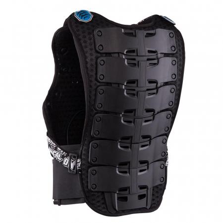 Armura Protectie O'Neal Holeshot Roost, Zone Extinse De Protectie Marime Xl, albastra2