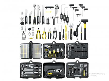 Atelier Mobil Topeak Prepstation Pro Tps-05, dulap-suport scule, otel profesional3