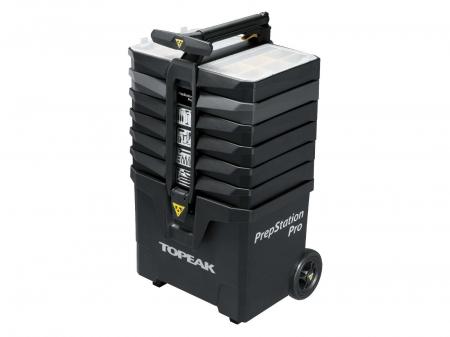 Atelier Mobil Topeak Prepstation Pro Tps-05, dulap-suport scule, otel profesional0