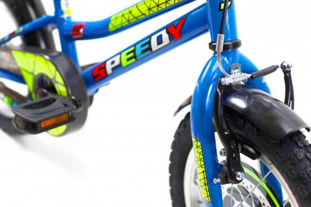 Bicicleta Copii Dhs 1401 Verde 14 Inch [11]