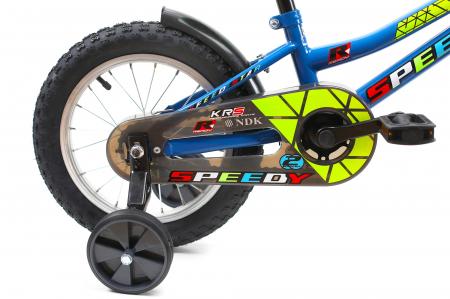 Bicicleta Copii Dhs 1401 Verde 14 Inch [10]
