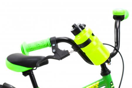 Bicicleta Copii Dhs 1401 Verde 14 Inch [5]