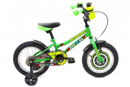 Bicicleta Copii Dhs 1401 Verde 14 Inch [0]