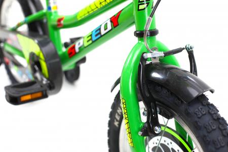 Bicicleta Copii Dhs 1401 Verde 14 Inch [4]