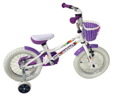 Bicicleta copii Dhs 1402 - 14 Inch  Alb [1]