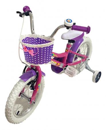 Bicicleta copii Dhs 1402 - 14 Inch  Alb [5]