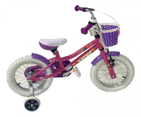 Bicicleta copii Dhs 1402 - 14 Inch  Alb [4]
