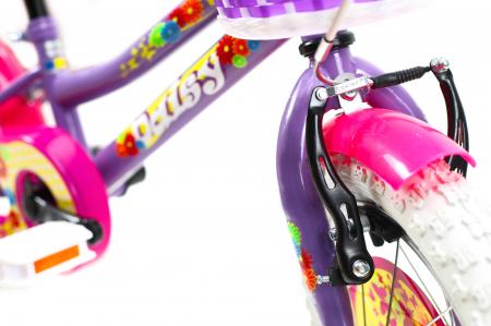 Bicicleta Copii Dhs 1402 Violet 14 Inch [2]