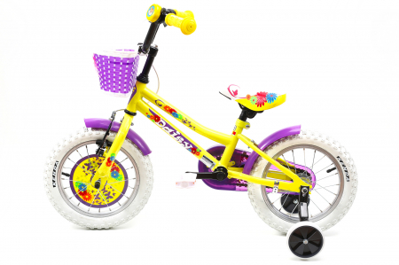 Bicicleta Copii Dhs 1402 Violet 14 Inch [10]