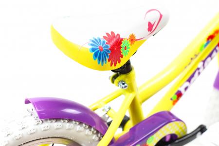 Bicicleta Copii Dhs 1402 Violet 14 Inch [8]