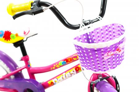 Bicicleta Copii Dhs 1402 Violet 14 Inch [9]