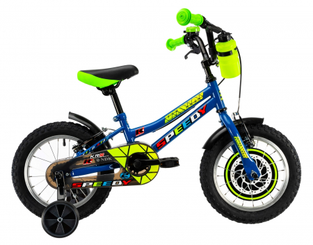 Bicicleta Copii Dhs 1403 Verde 14 Inch1